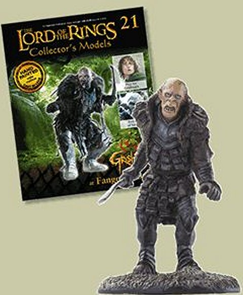 Grishnakh Lord Of The Rings Collectors models 21