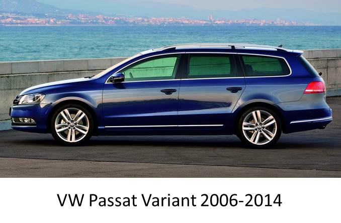 vw passat variant 2006 2014 magnetic car sun shades 2 pack. Black Bedroom Furniture Sets. Home Design Ideas