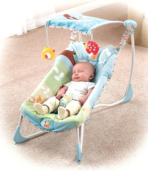 Fisher Price Soothe And Go Bouncer