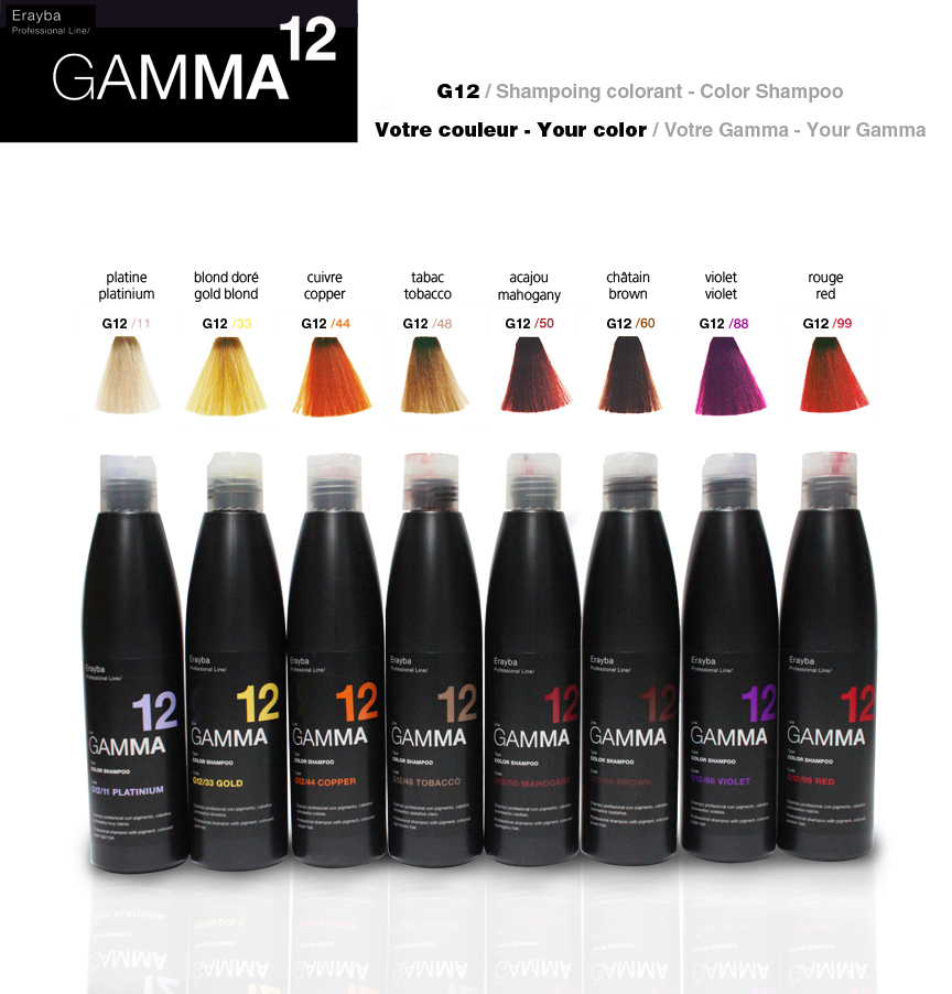 Gamma Colour Shampoo 250ml By Erayba