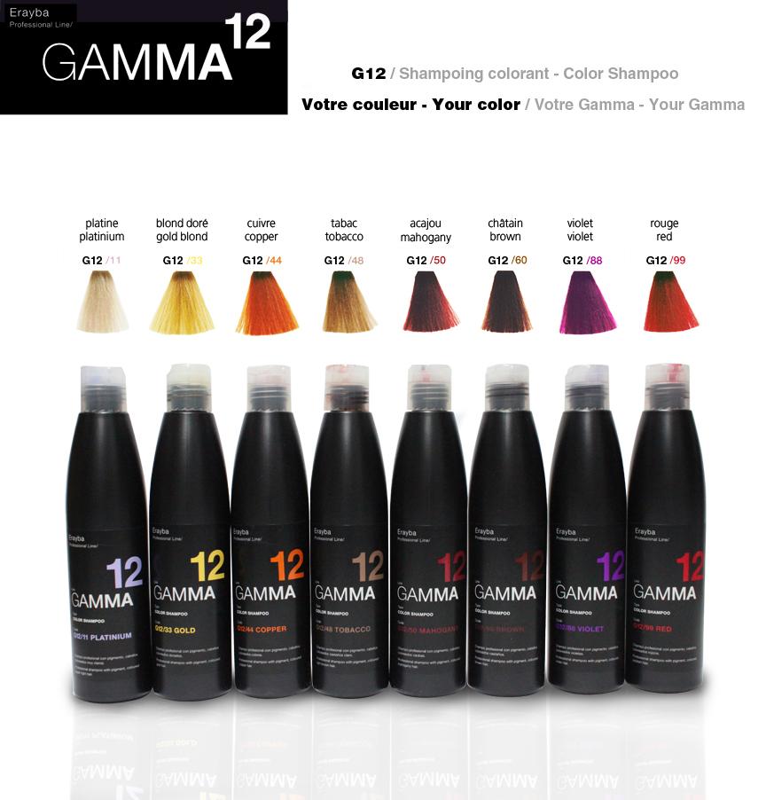 Gamma Colour Shampoo 250ml By Erayba