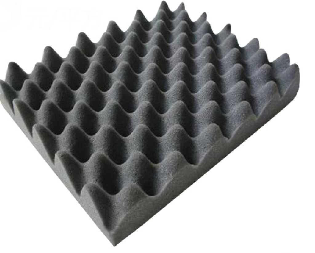 1m 178 50mm Grey Egg Box Insulation Foam Grey Egg Box