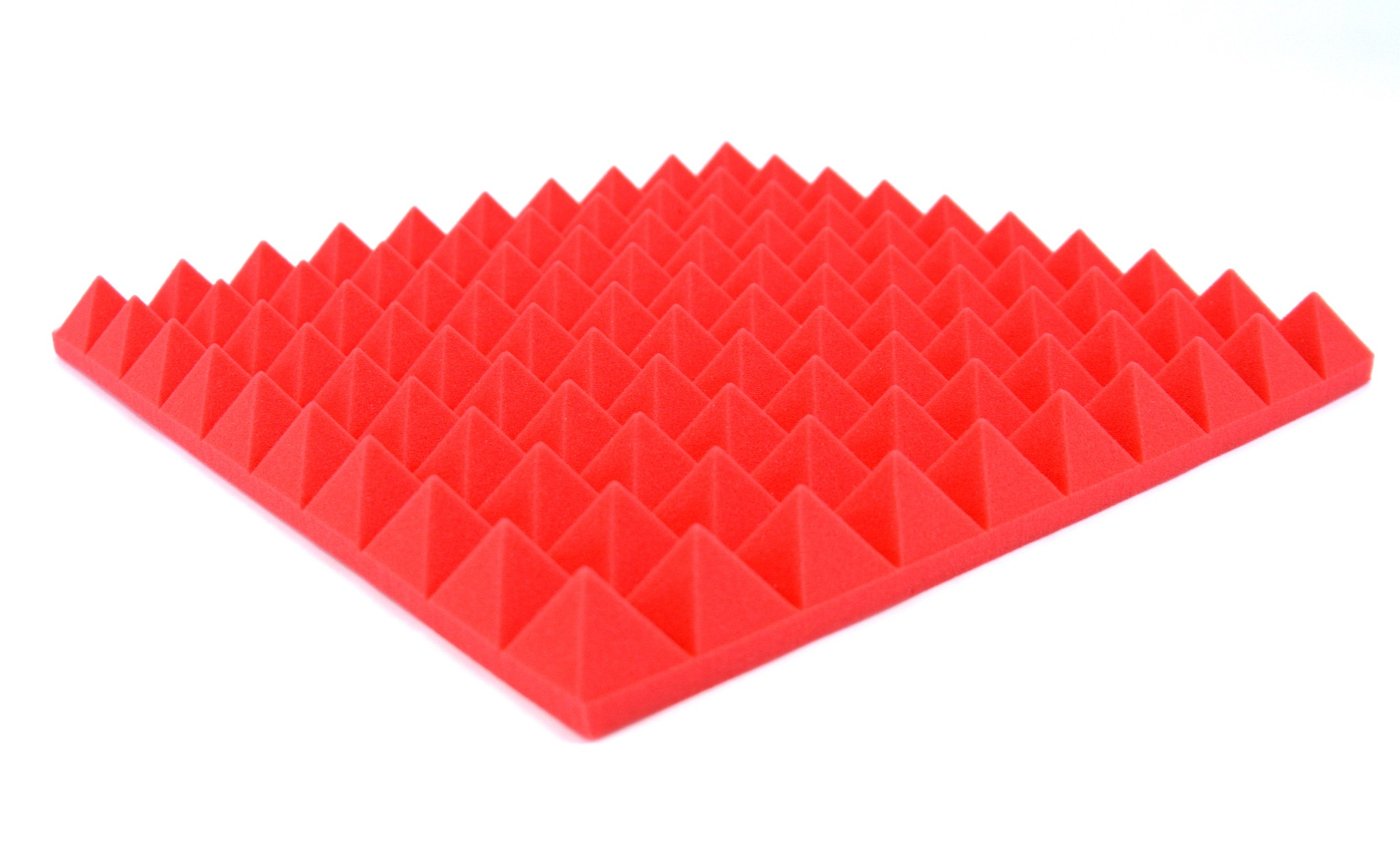 Red Pyramid Foam Panels 8x Profiled Quot Pyramid Quot Red Foam