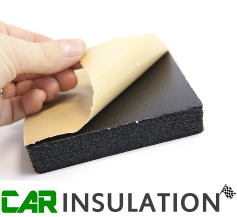 1m 20mm Self Adhesive Closed Cell Foam Insulation Sound