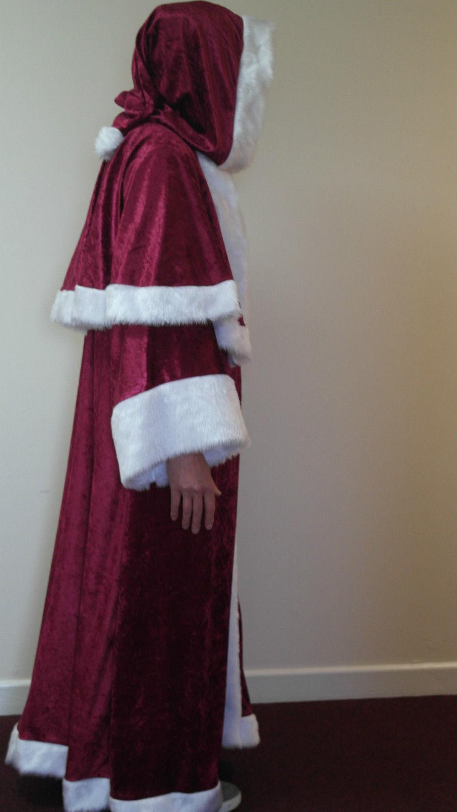 53f8b5ee88 Father Christmas Pull-on Velvet Robe Santa clause St. Nicholas ...