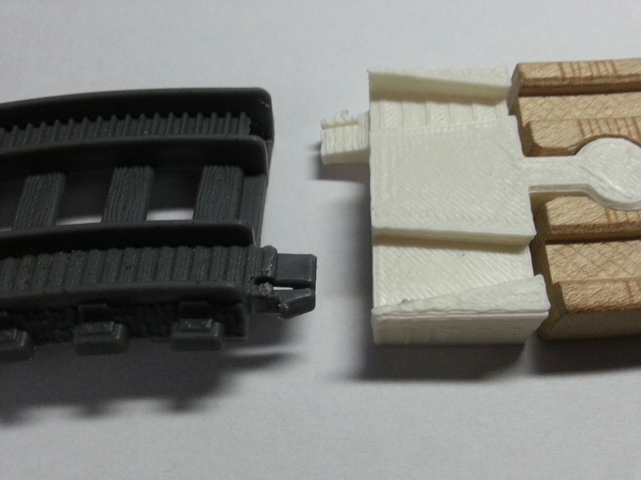 New Motorized Trackmaster Adapter Plastic To Wood Thomas Battery Track Mf Set X2