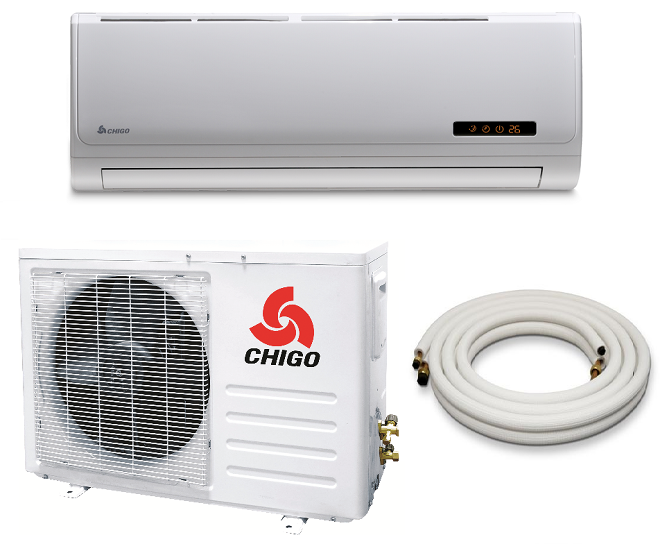 Chigo 12000 Btu 16 Seer 110v Mini Split Heat Pump Air
