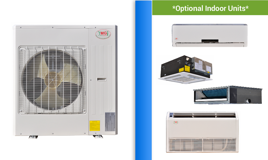 Ymgi Multi Zone 1 5 Room Ductless Mini Split Heat Pump Ac