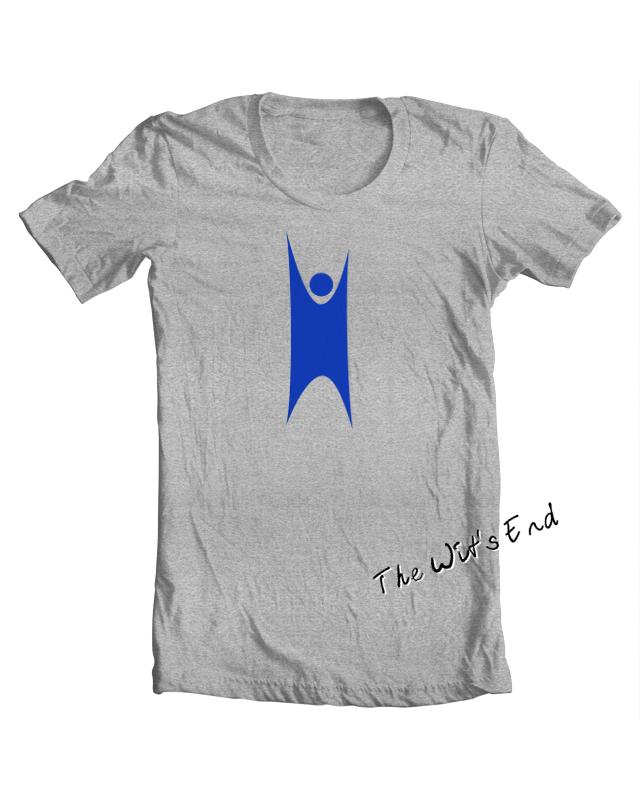 Secular Humanism Happy Human symbol tee shirt example