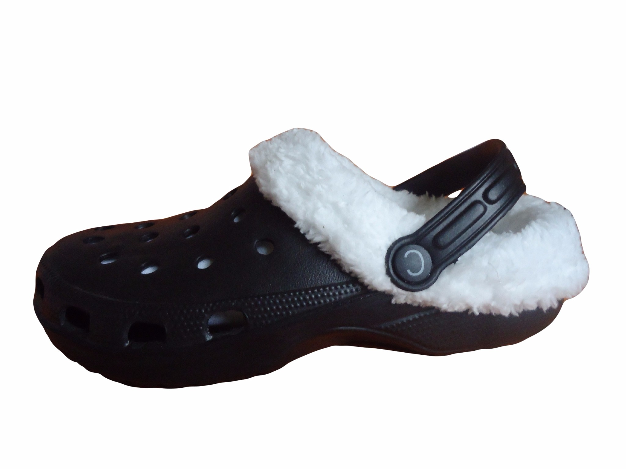 e8820dc485b514 ... Fur Lined Clogs Adults Fleece Furry Slippers Shoes Cloggis ...