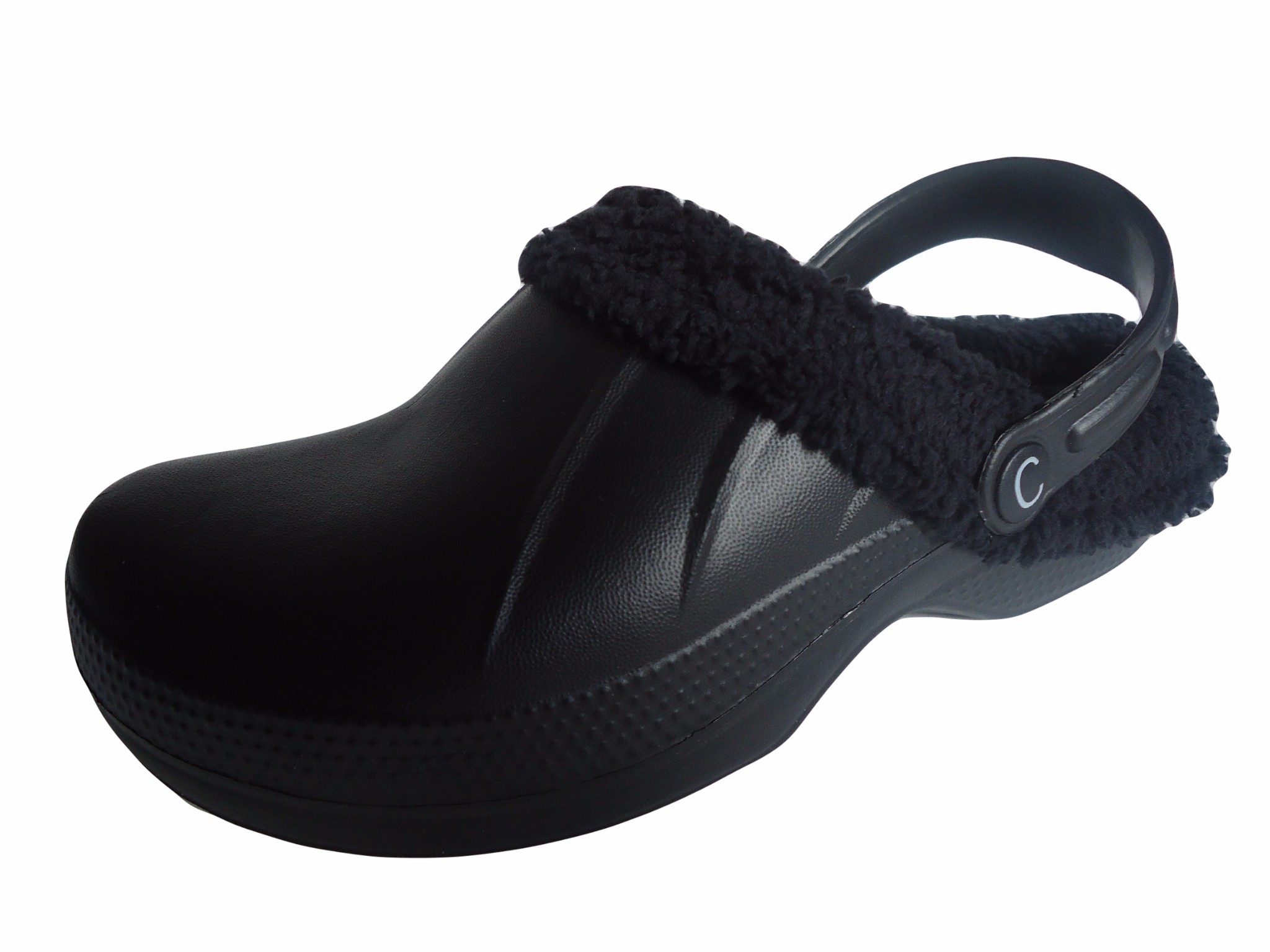 836a1a7c3 Fur lined clogs full clogs chefs kitchen garden shoes slippers jpg  2048x1535 Lined clog shoes