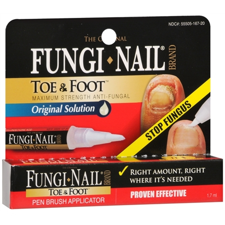 Read about fungal fingernails and toenails, also known as onychomycosis or nail fungus. Discover the causes, symptoms, signs, home remedies, treatment (topical medicine), and prevention of discolored nails.