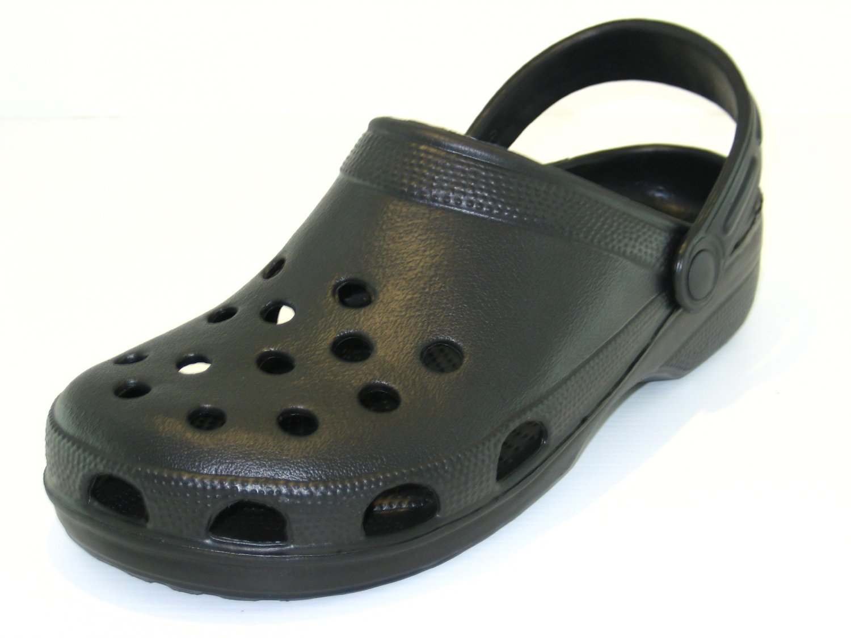 Unisex Garden Clogs Black Beach Shoes Coolers Slip On Cloggis ebc833e4b6c7