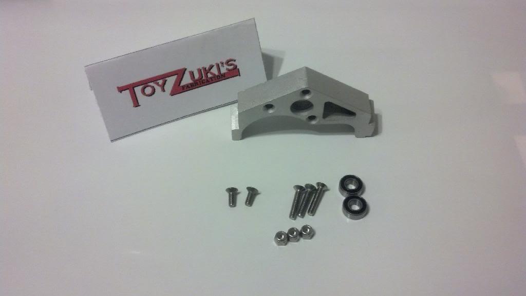 ToyZuki's Fabrication Low Center of Gravity Motor Mount ALUM/G10