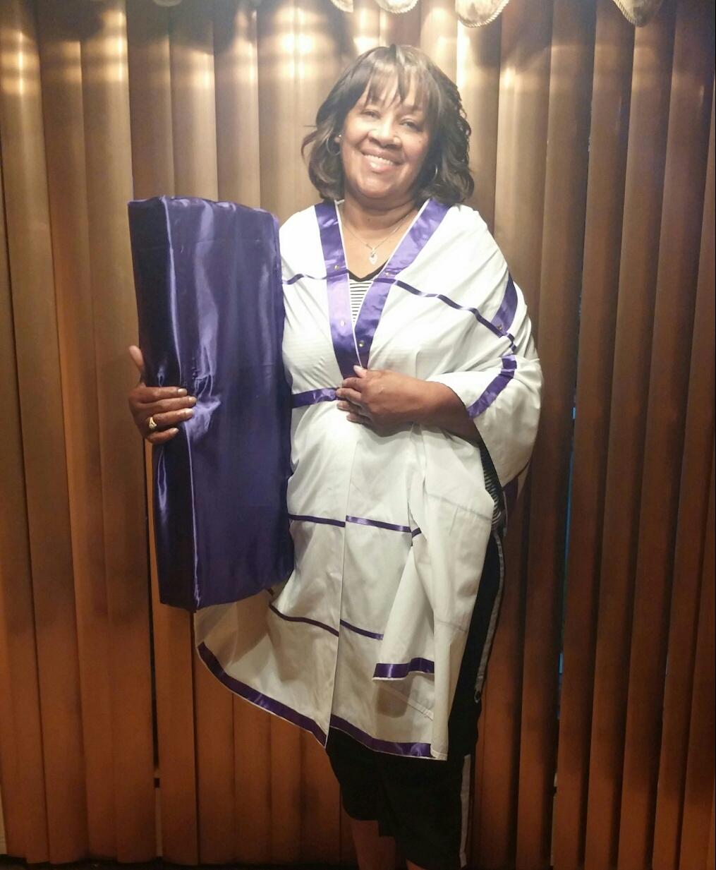Prayer Shawl W/ Pillow & Bible Scriptures