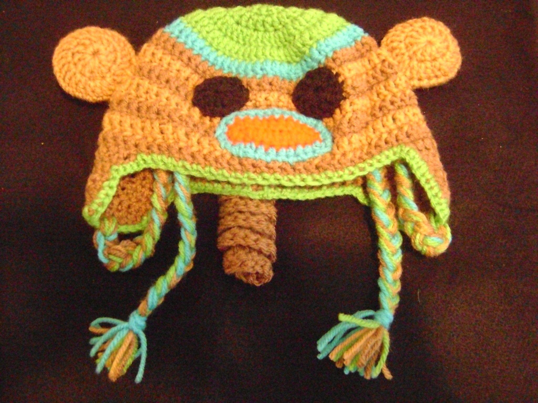Purple Monkey Hat