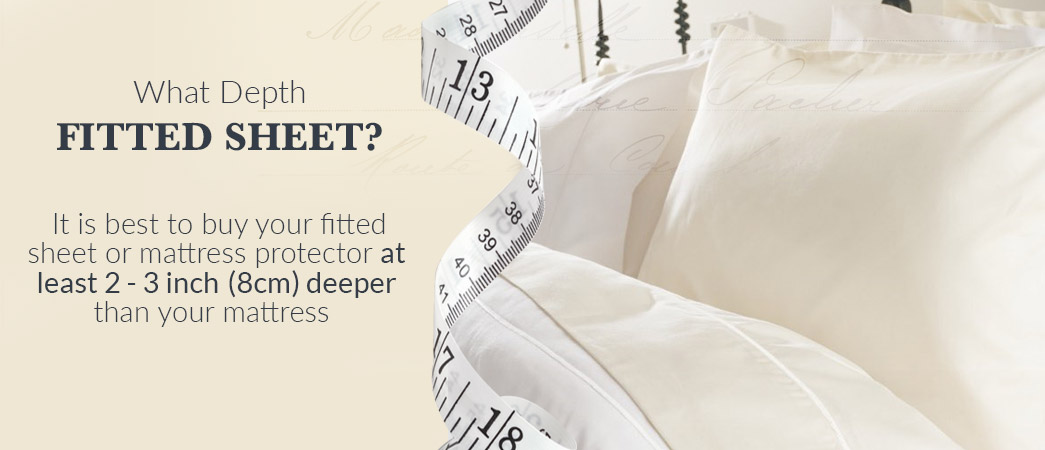 What depth of fitted sheet to buy?