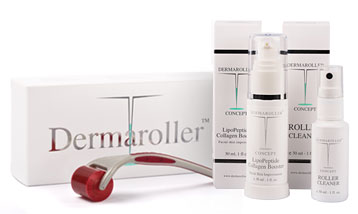 Genuine Dermaroller Home Use Meso Rejuvenation Kit