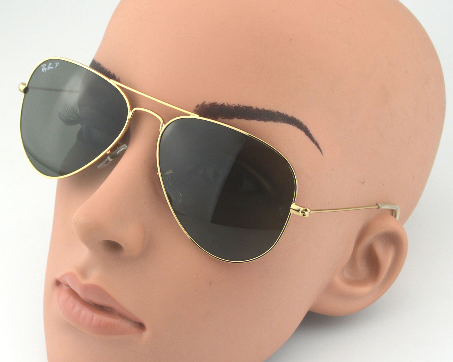 171a44ec5f Ray Ban RB3025 Aviator Classic 001 58 Gold Frame Polarized Green Classic  G-15 Lenses Unisex Sunglasses 58mm