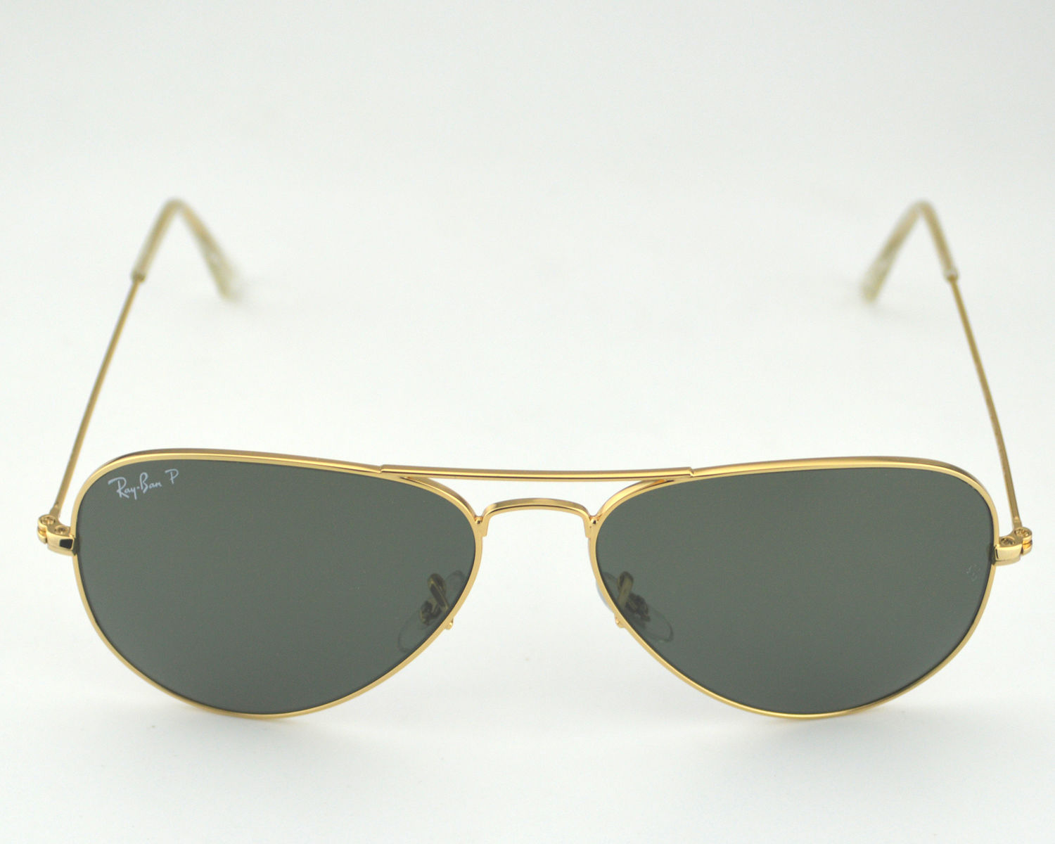 849be30ee0e97 ... sweden ray ban rb3025 aviator classic 001 58 gold frame polarized green  classic g 15 lenses