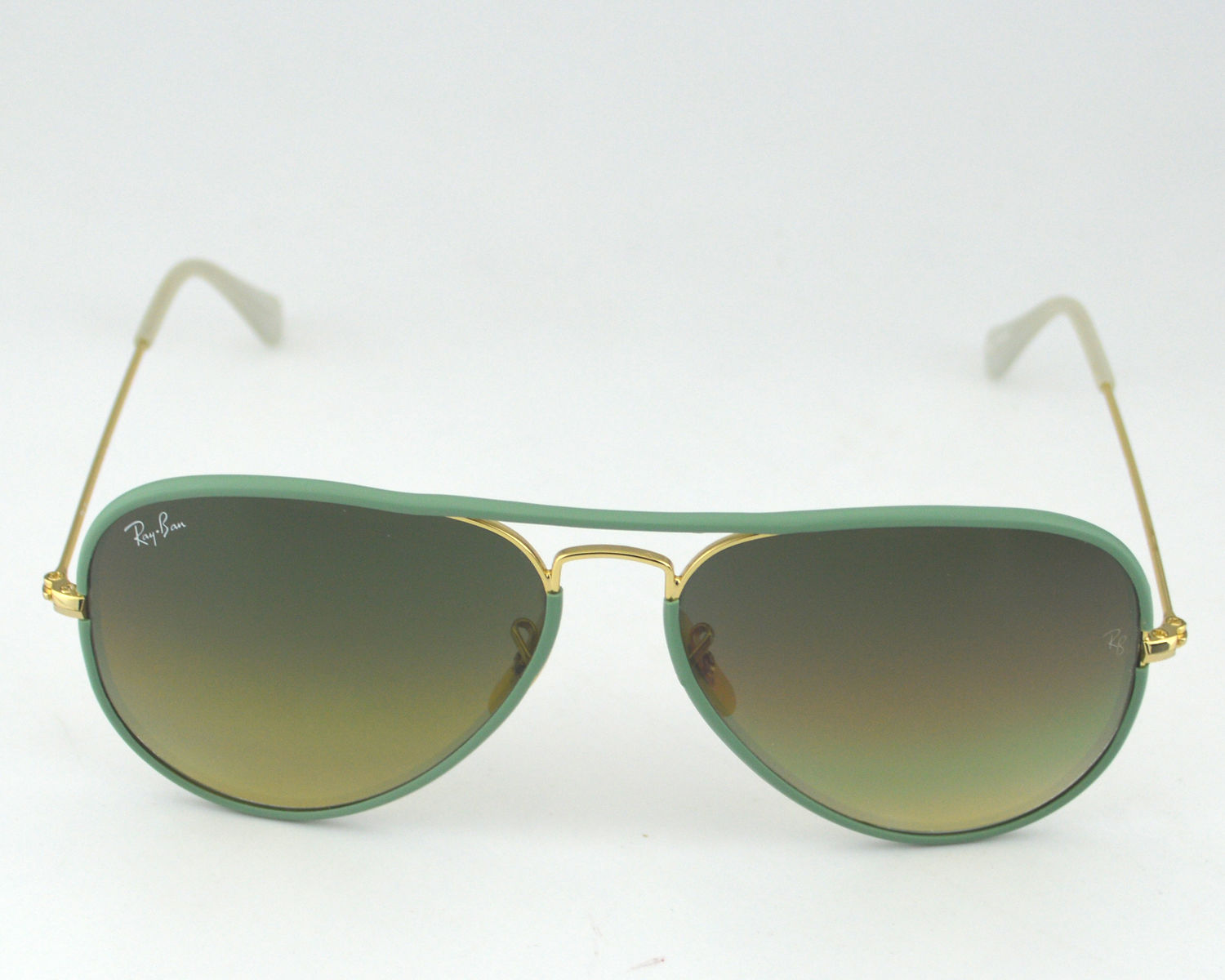 ff3c7f97c04 Ray Ban RB 3025JM Aviator Full Color 001 3M Green Gradient Lens Unisex  Sunglasses 58mm