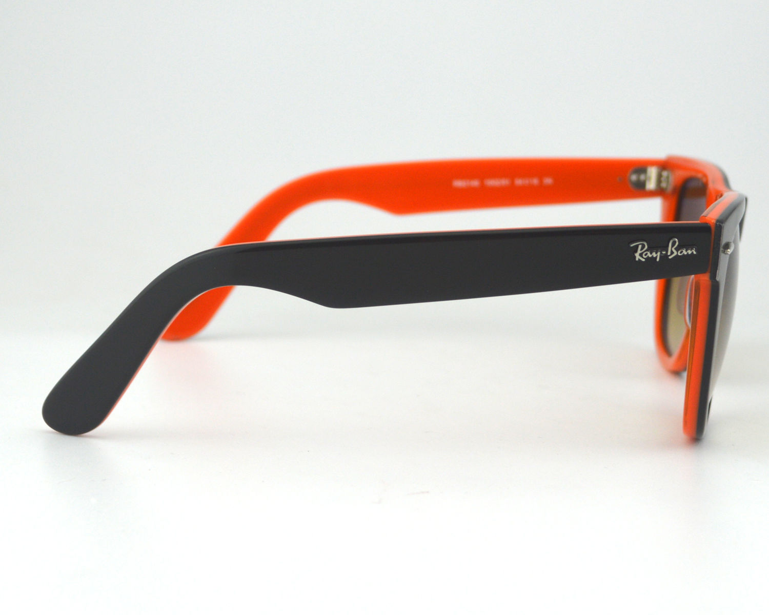 b7bae46d52826 ... czech ray ban rb 2140 1002 51 original wayfarer rare prints red black  brown gradient glass