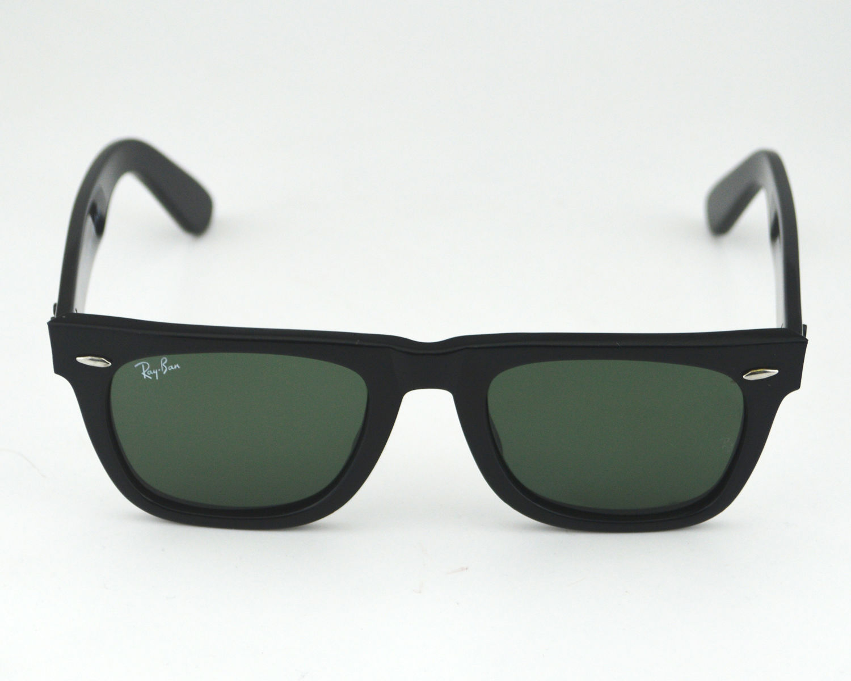 cb9575f57e Ray-Ban RB2140 Original Wayfarer Classic 901 Black Frame  Green Classic G-15  Lens Male Sunglasses 50mm