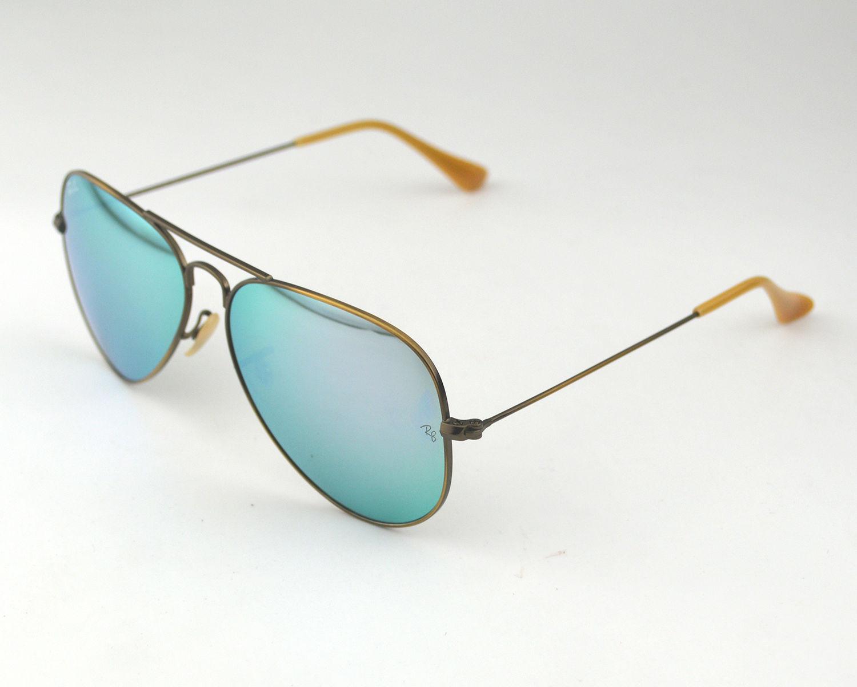 5e983ccfbe0 Ray Ban RB 3025 Aviator Flash Lenses 167 4K Bronze-Copper  Lilac Mirror  Glass Lens Unisex Sunglasses 58mm