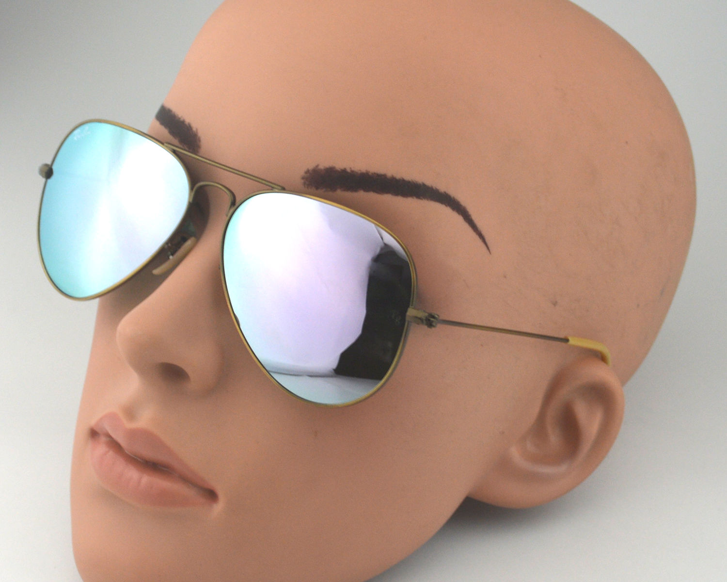 fc5d92176fb ... wholesale ray ban rb 3025 aviator flash lenses 167 4k bronze copper lilac  mirror glass lens