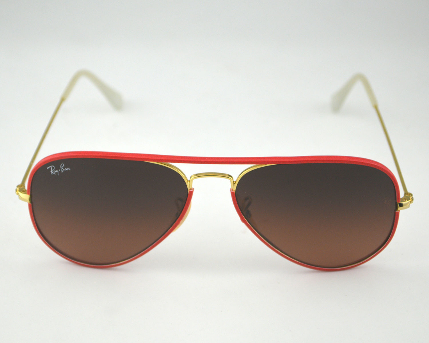 a71515c746 Ray Ban RB 3025JM Aviator Full Color 001 X3 Brown pink Gradient Glass Lens  Unisex Sunglasses 55mm