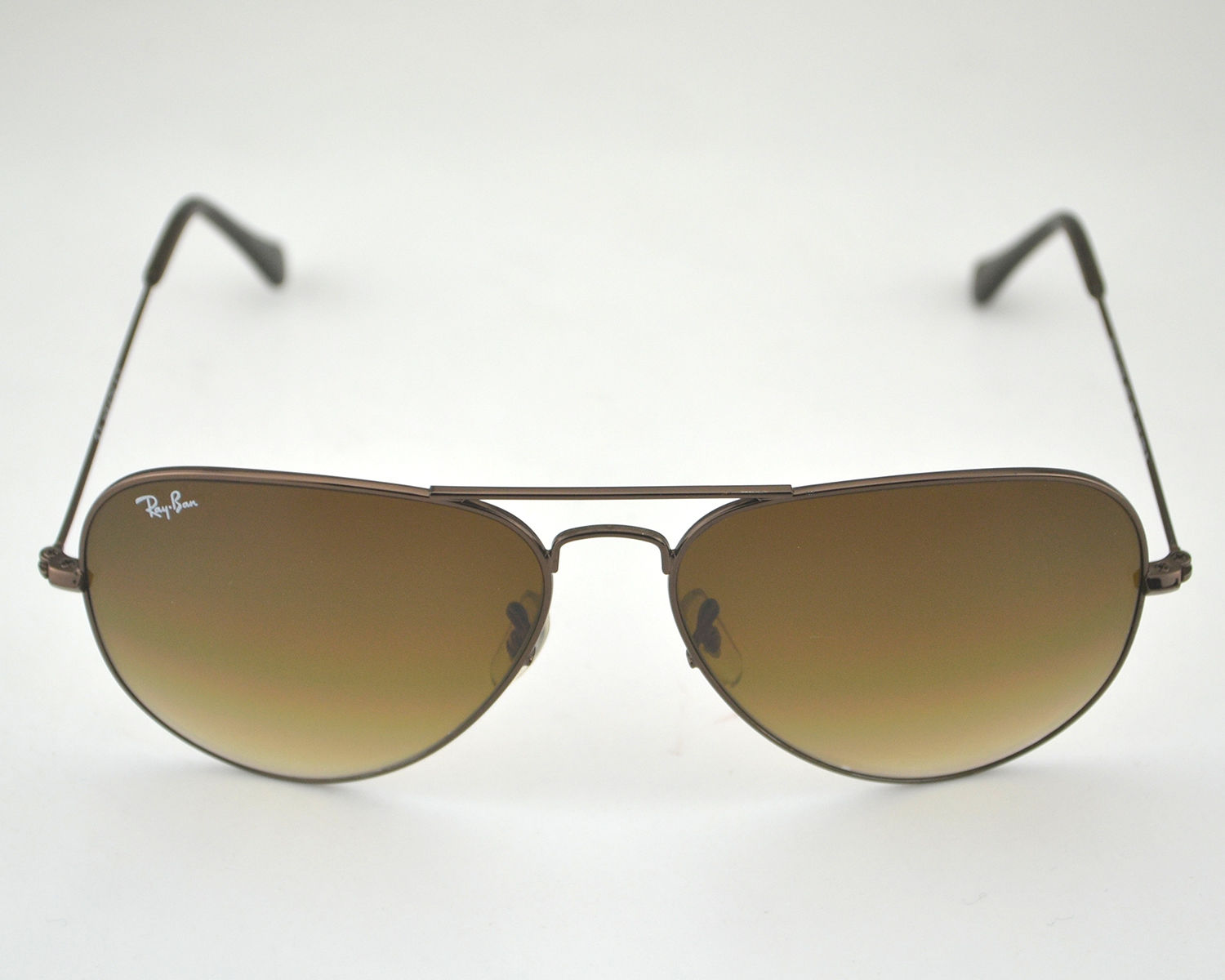 04ed5907cf Ray Ban RB3026 Aviator Large Metal 014 51 Brown Light Brown Gradient Lens  Sunglasses 62mm