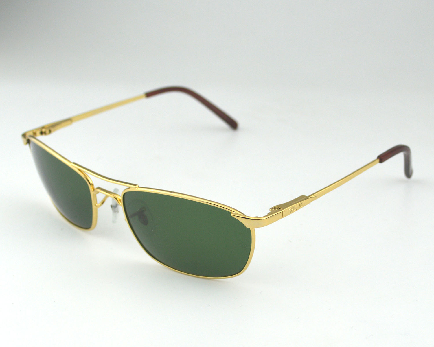 Ray Ban Rb3132 001 Gold Metal Frame Green Classic Lens