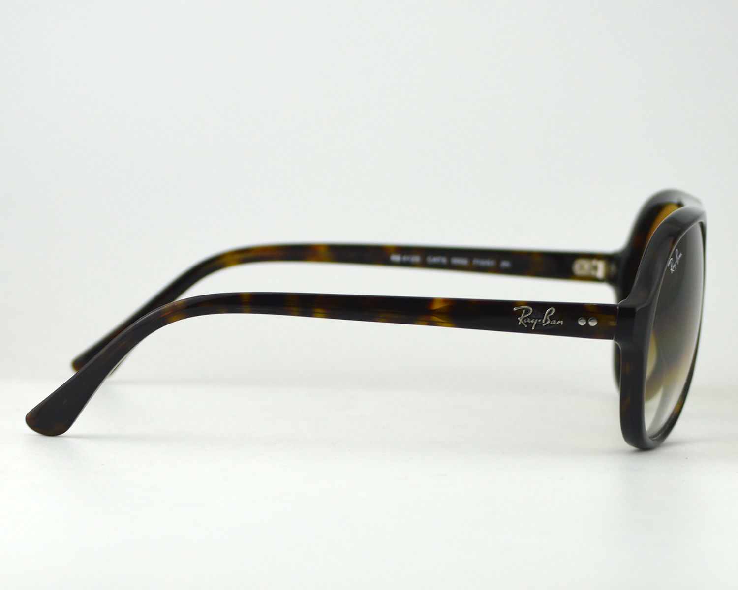 Ray-Ban RB4125 Cats 710/51 Tortoise Acetate Frame/Brown Gradient ...