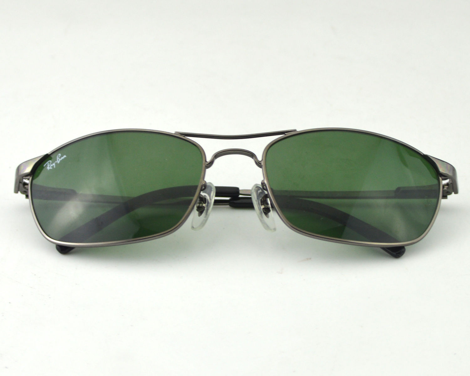 79c6ece9b1 Ray-Ban RB3132 004 Gunmetal Frame Green Lens Male Sunglasses 56mm
