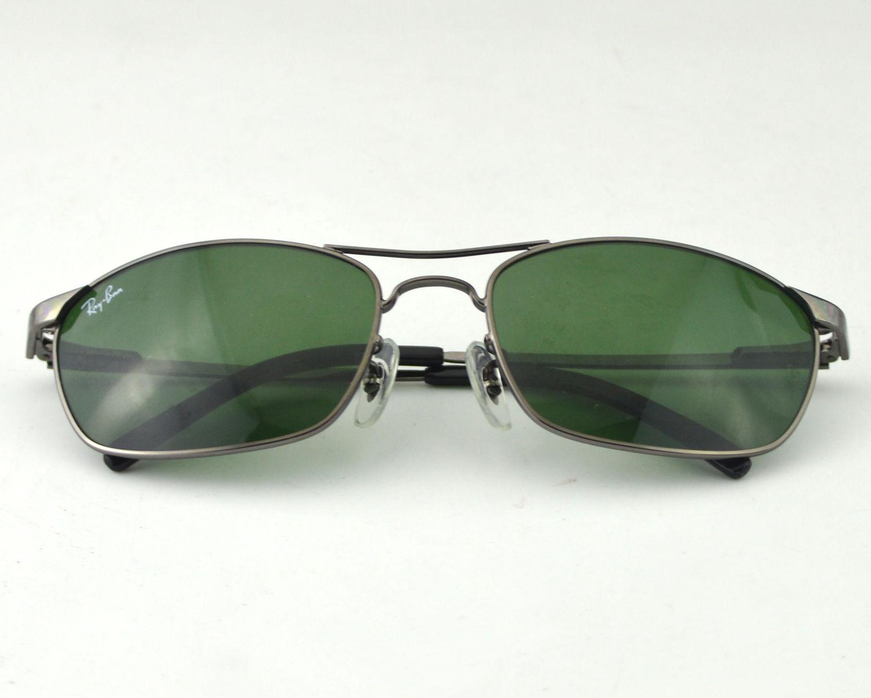 89ddf730d30 Ray-Ban RB3132 004 Gunmetal Frame Green Lens Male Sunglasses 56mm