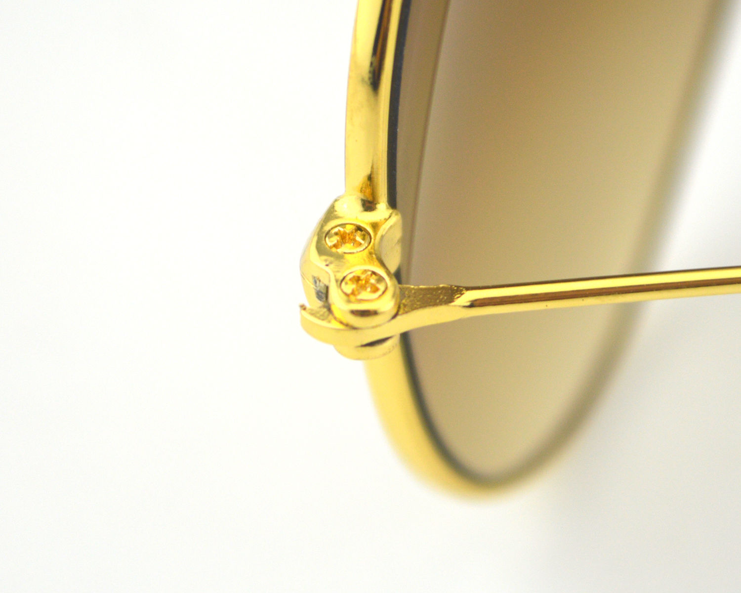 30c64dfb5f8af ... store ray ban rb3025 aviator gradient 001 51 gold frame light brown  gradient lens unisex sunglasses