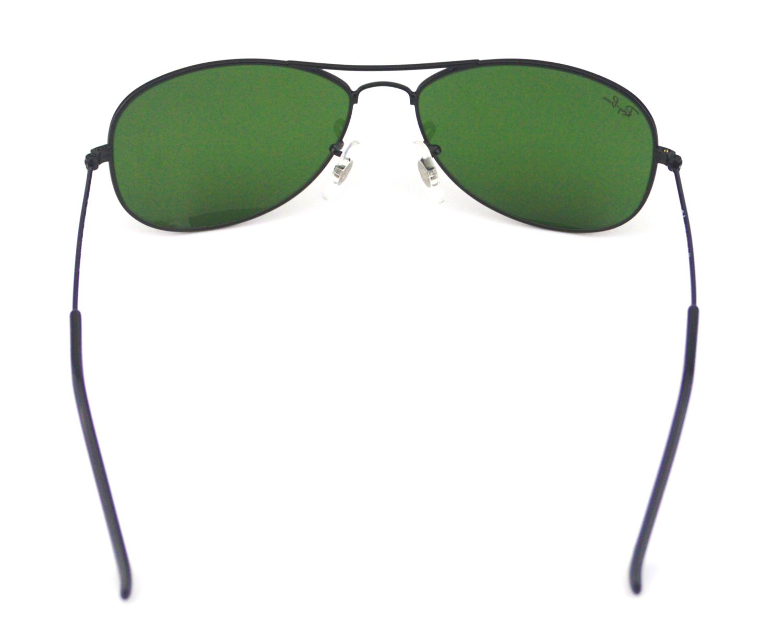 c6d5132550 Ray Ban RB 3362 Cockpit 002 Black- Gunmetal  Green Classic G-15 Glass Lens  Unisex Sunglasses 56mm