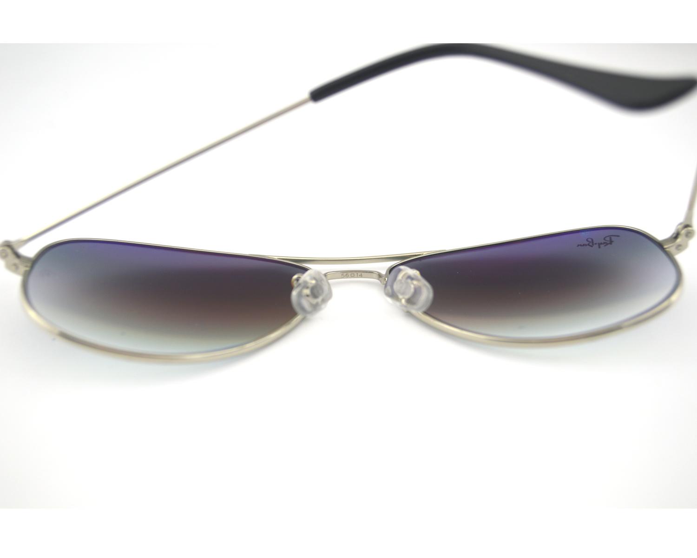 461ed7dbd4 Ray Ban RB 3362 Cockpit 003 32 Silver   Light Grey Gradient Glass Lens  Unisex Sunglasses 56mm