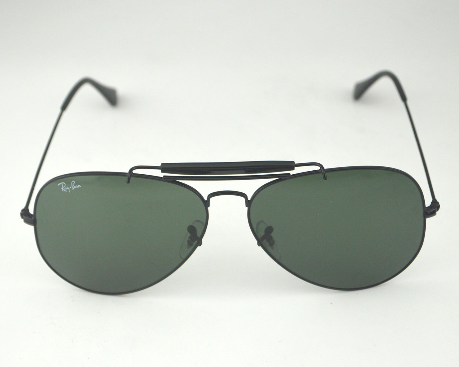 b45fd5d6ef Product Details. Ray Ban RB 3029 Outdoorsman II L2114 Black Frame Green  Classic G-15 Glass