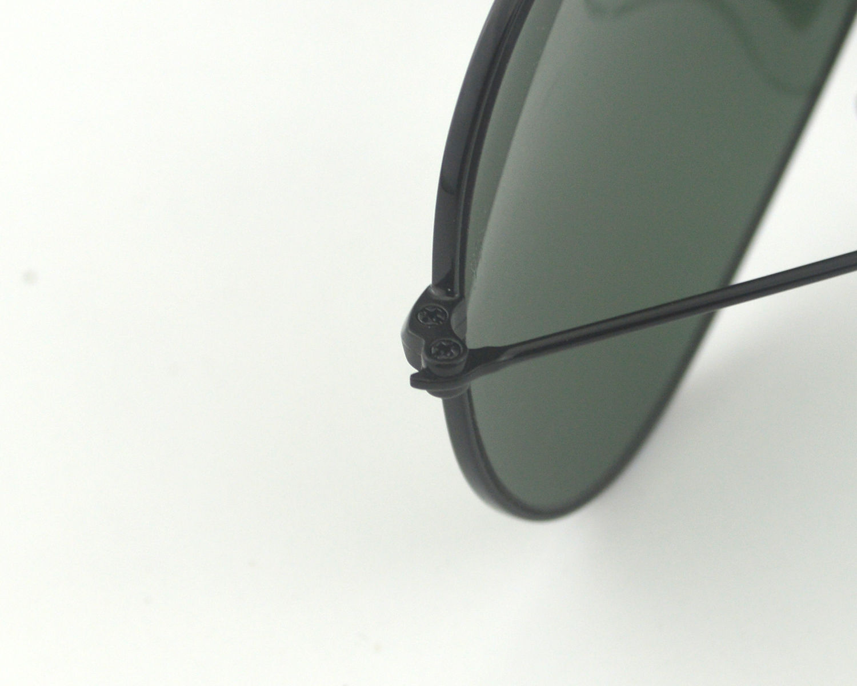 3eadf6c550 Ray Ban RB 3029 Outdoorsman II L2114 Black Frame Green Classic G-15 Glass  Lens Male Sunglasses 62mm
