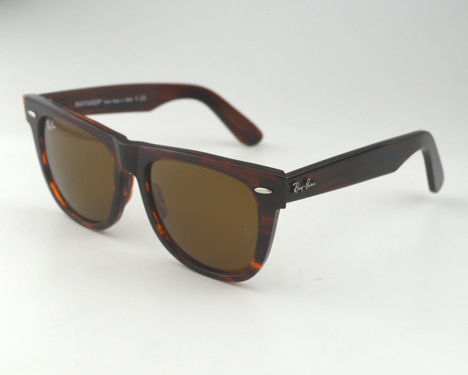 a999f954535 Ray Ban RB 2140 Wayfarer 954 Tortoise Acetate Frame Brown Classic B15 Lens  Unisex Sunglasses 54mm