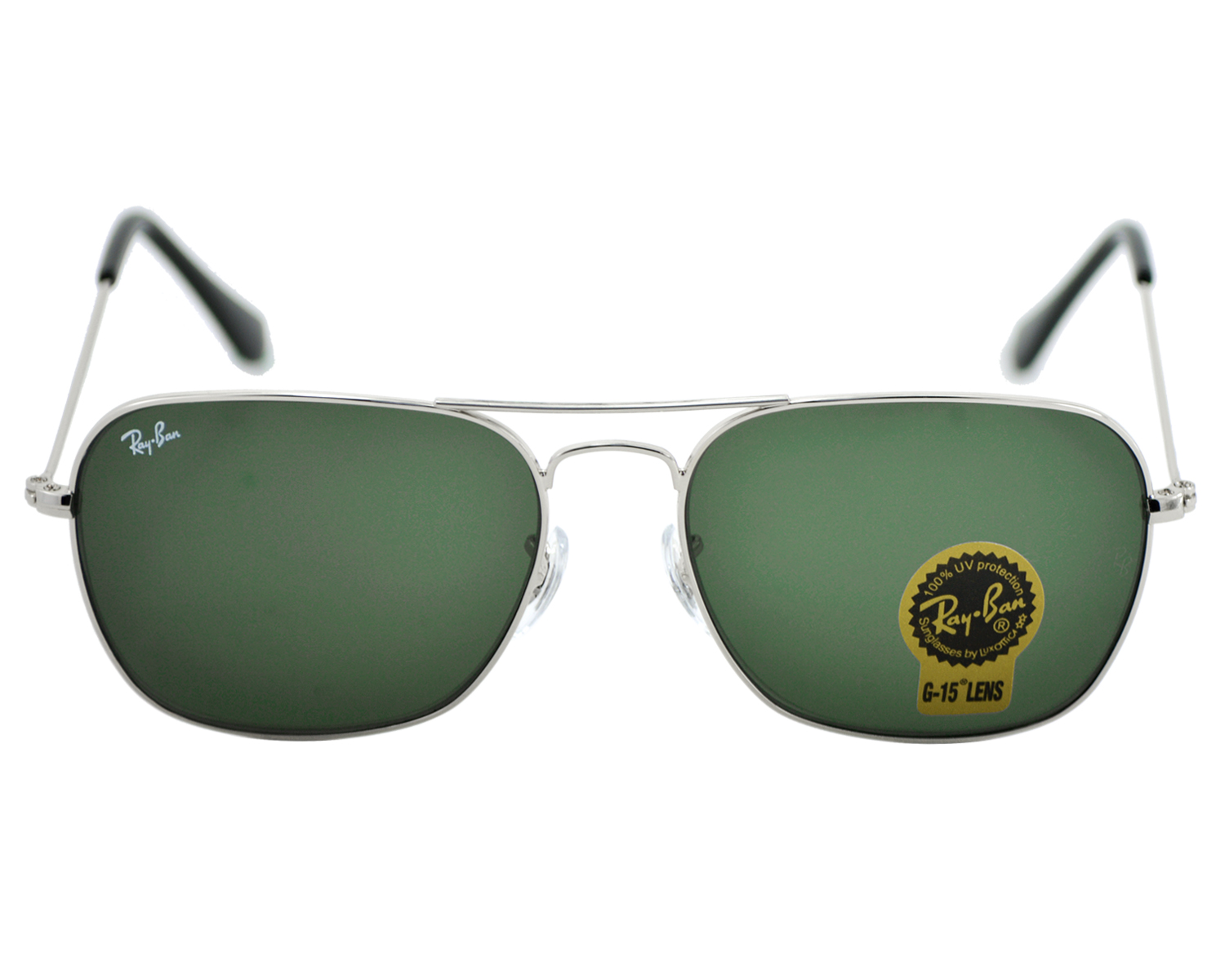 ec1c6acd086 ... bronze red aviator 58mm sunglasses ad015 fdda9  france rayban rb3136  caravan 003 silver frame green classic g 15 lenses unisex sunglasses 58mm  9e316