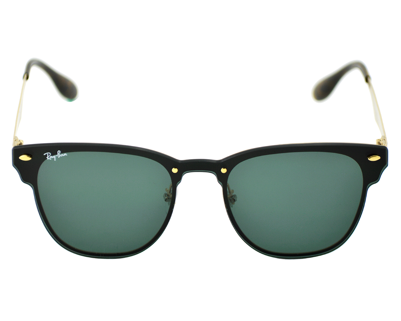 0971c3139cb RayBan RB3576N Blaze Clubmaster 043 9A Gold Frame Green Classic Lenses  Unisex Sunglasses 47mm