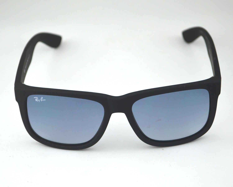 Ray Ban RB4165 Justin Classic 601 8G Black Frame Grey Gradient Lenses  Sunglasses 55mm b9535a8dc7
