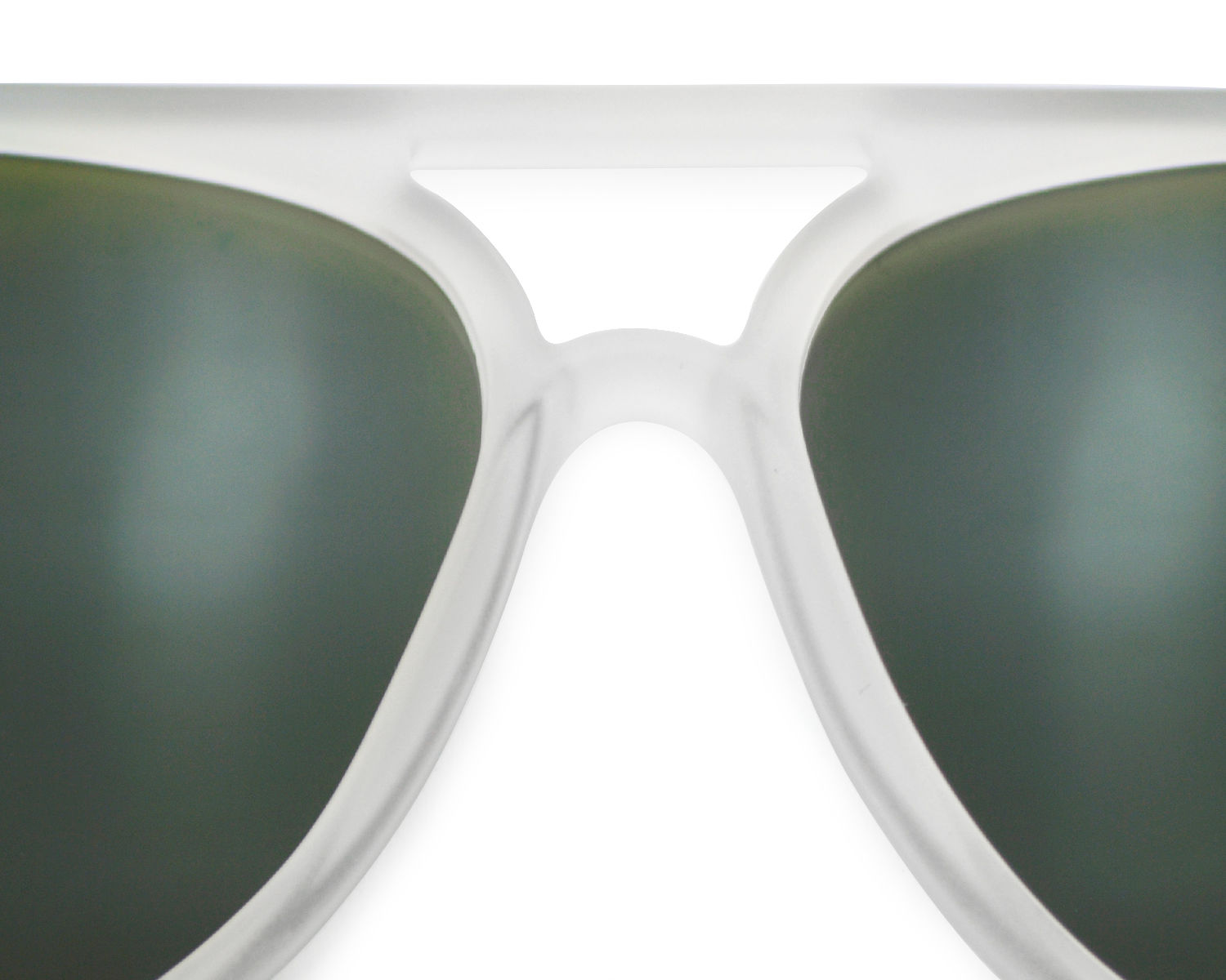 Ray-Ban RB4125 Cats 5000 Flash Lenses 646/19 Transparent Frame/Green ...