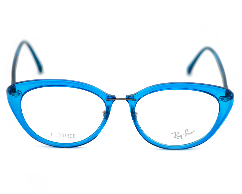 7b09b238d0 ... france ray ban rb7088 liteforce 5451 blue frame clear glass lenses  unisex optical glasses 51mm c39ef