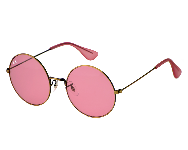80d49efff38 Ray-Ban RB3592 JA-JO 9035 F6 Bronze-Copper Frame Pink Classic Lenses Unisex  Sunglasses 55mm