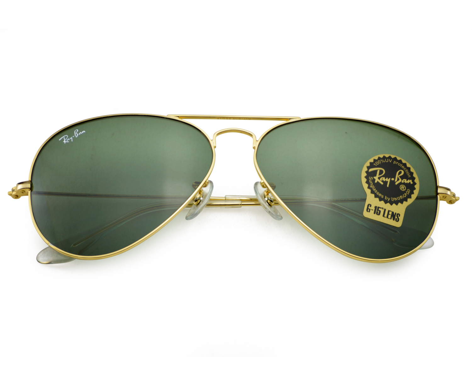78f5e35e53 ... sunglasses 71197 c5615  coupon for ray ban rb3025 aviator classic l0205  gold frame green classic g 15 lenses unisex