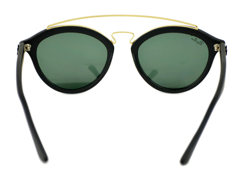 a0977d69c5 Ray-Ban RB4257-F GATSBY II 601 71 Black Gold Black Frame Green Classic  Lenses Unisex Sunglasses 51mmX