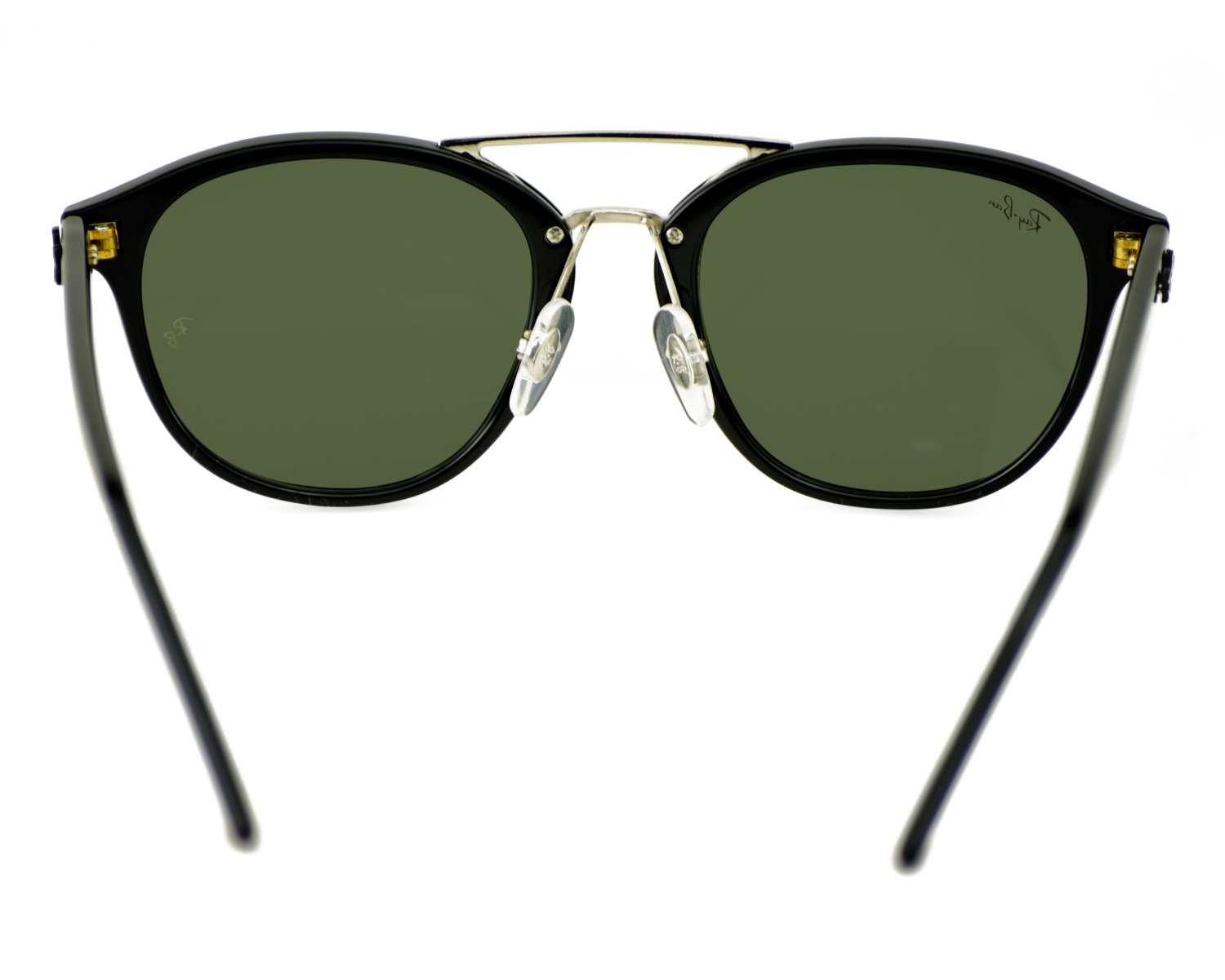 de02f0356a Ray-Ban RB2183 901 71 Black Frame Green Classic Lenses Unisex Sunglasses  53mm
